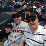 Three Generations of Giants Fans – A Father's Day To Remember!