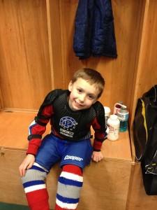 Ty, Hockey, Comcast Arena