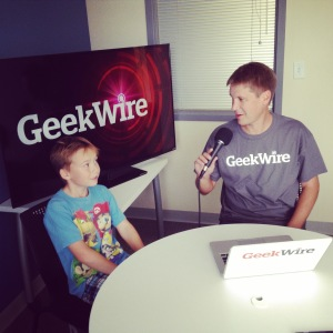 Ty was a hit when interviewed by John Cook of GeekWire!
